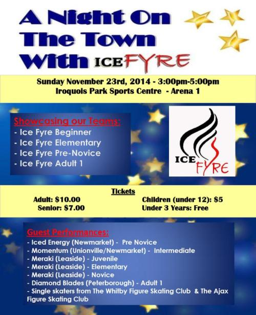 Ice Show Flyer - Nov 2014 Good