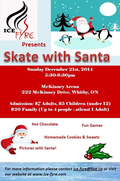 Skate with Santa Flyer
